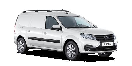 ЛАДА Ларгус фургон 1.6 л 16-кл. (106 л.с.), 5МТ / Comfort / Multimedia Plus
